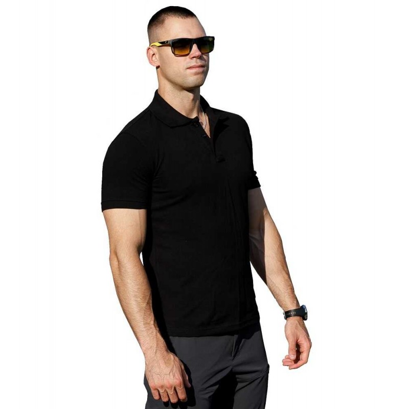 Футболка Polo Serious Black